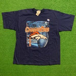 Vintage Deadstock 90's Denver Broncos NFL Tee